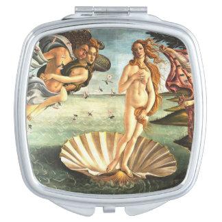 The Birth Of Venus Vanity Mirror