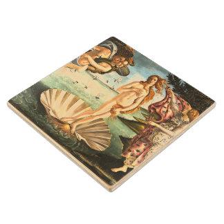 The Birth Of Venus Wood Coaster
