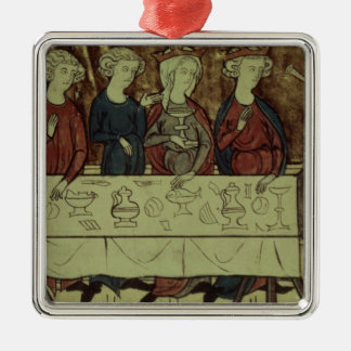 The Birthday Feast of Nubien, King of Armenia Christmas Ornament