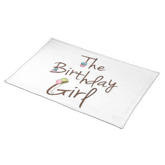 The Birthday Girl Placemat