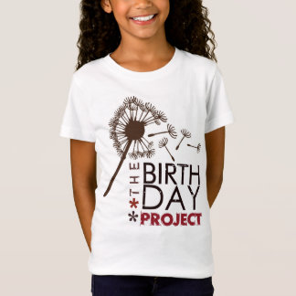 The Birthday Project Girls Big Dandelion Shirt