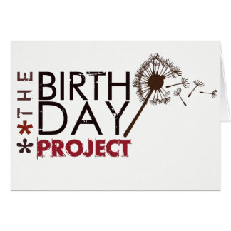 The Birthday Project Note Card