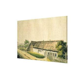 The birthplace of Franz Joseph Haydn Canvas Print