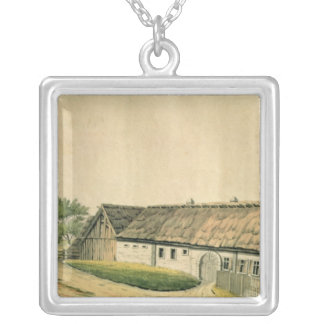 The birthplace of Franz Joseph Haydn Silver Plated Necklace