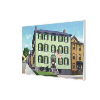 The Birthplace of the Poet Longfellow Canvas Print