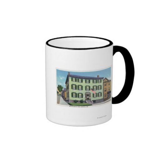 The Birthplace of the Poet Longfellow Coffee Mugs