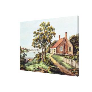 The Birthplace of Washington at Bridges Creek Canvas Print