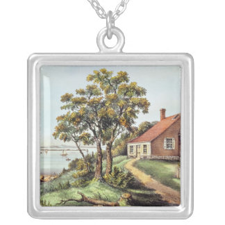 The Birthplace of Washington at Bridges Creek Silver Plated Necklace