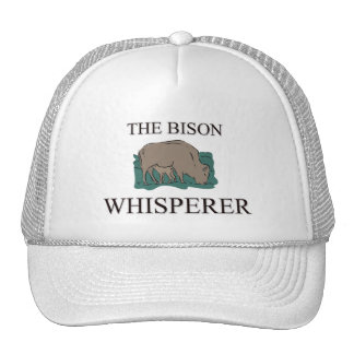 The Bison Whisperer Trucker Hat