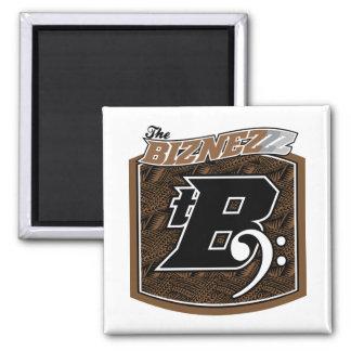 The Biznezzz Refrigerator Magnet