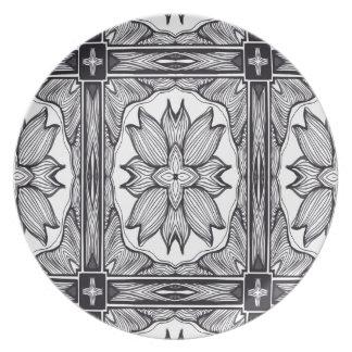 The Black and White Secret Plates
