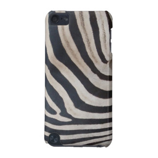 The black and white skin from an African zebra iPod Touch (5th Generation) Cover