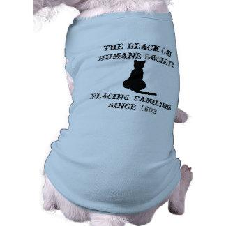 The Black Cat Humane Society Dog Tee Shirt