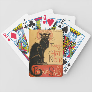 """The Black Cat"" Le Chat Noir Bicycle Playing Cards"