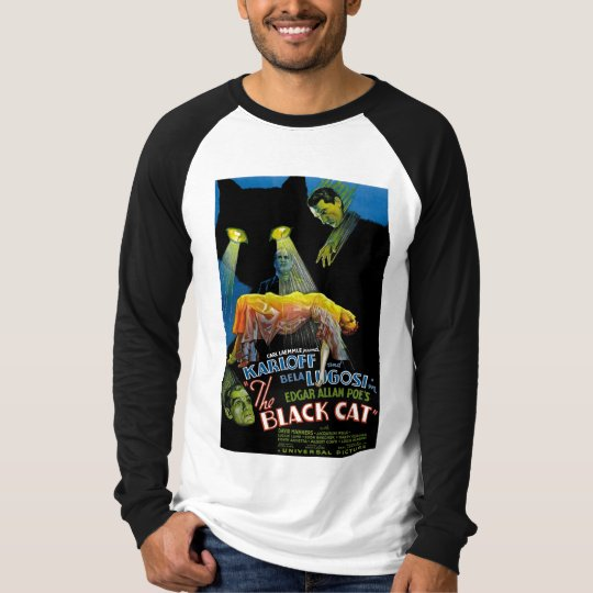 The Black Cat Movie Poster T-Shirt