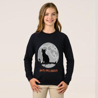 The black cat sweatshirt