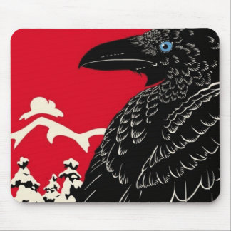 The Black Crow Mouse Mat