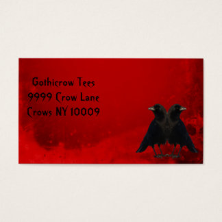 The Black Crows Business Card