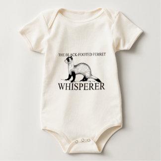 The Black-Footed Ferret Whisperer Baby Bodysuit