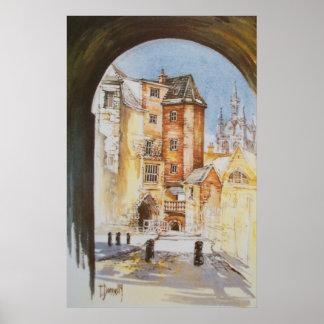 The Black Gate, Newcastle upon Tyne  Print
