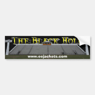 "The ""Black Hole"" E-E Stadium Bumper Sticker"