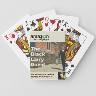 The Black Larry David Playing Cards