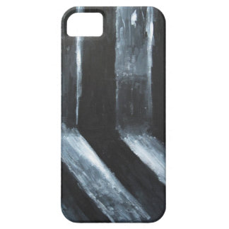The Black Leaking Light(light symbolism) Case For The iPhone 5