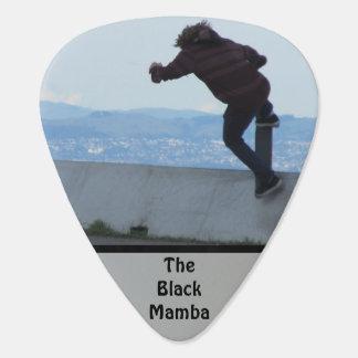 The Black Mamba Guitar Pick