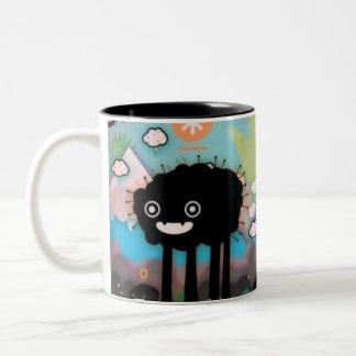 the black monster mug