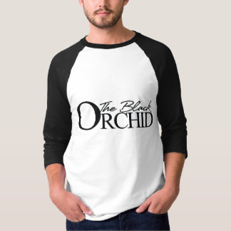 The Black Orchid 3/4 Sleeve Jersey T-Shirt