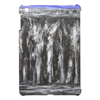 The Black Parthenon architectural surrealism iPad Mini Case