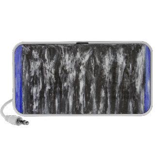 The Black Parthenon architectural surrealism iPod Speakers