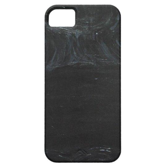 The Black Pond (black minimalism) iPhone 5 Cases