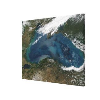The Black Sea in eastern Russia Canvas Print