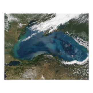The Black Sea in eastern Russia Photo Print