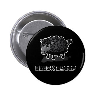 The Black Sheep 6 Cm Round Badge