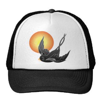 The Black Sparrow Trucker Hat