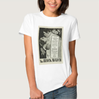 'The Black Watch' 1929 vintage poster T-shirt