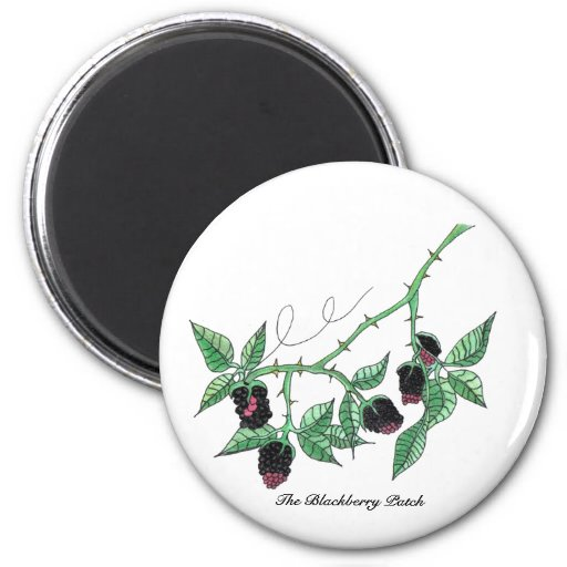 The Blackberry Patch...Magnet