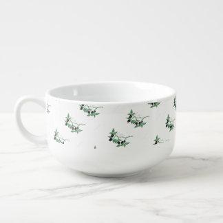 """"""" The Blackberry Patch """" Soup Mug"""