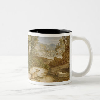 The Blacksmith of Ruhla, c.1854-55 Two-Tone Coffee Mug