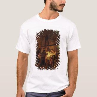 The Blacksmith's Shop (oil on canvas) T-Shirt
