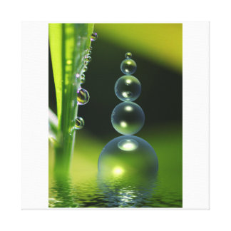 The blade of grass canvas print