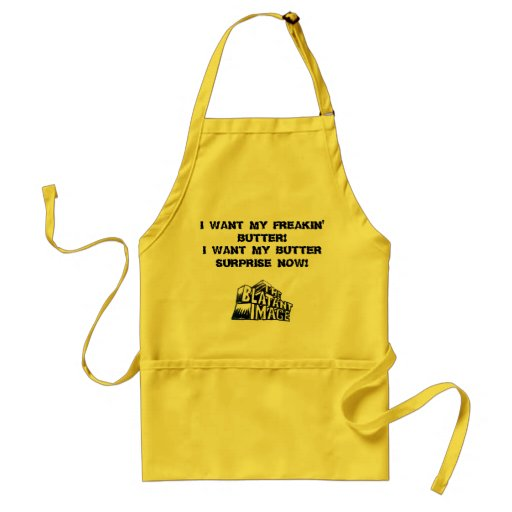 The Blatant Image Apron Butter style!