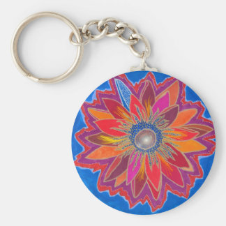 The Blazing Lotus Keychain