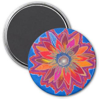 The Blazing Lotus Magnet