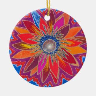 The Blazing Lotus Ornament