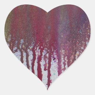 The Bleeding Edge Heart Sticker