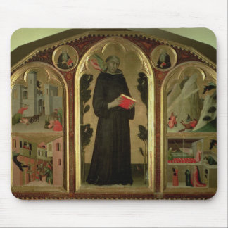The Blessed Agostino Novello Altarpiece Mouse Pad