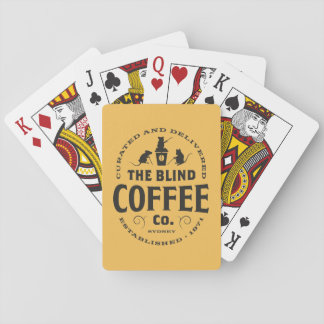 The Blind Coffee Co Custom Playing Cards